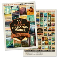 National Parks 100th Anniversary Collectible Postcard Set