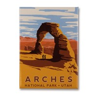 Arches Metal Magnet