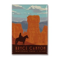 Bryce Canyon Metal Magnet