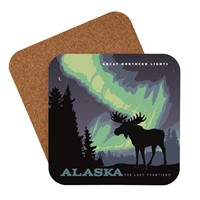 AK Northern Lights Moose Coaster