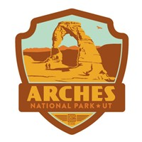 Arches Emblem Sticker