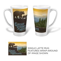 Great Smoky Mountaintop Latte Mug