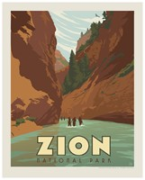 "Zion Narrows 8""x10"" Print"