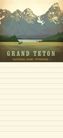 Grand Teton NP List Pad