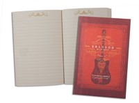 Branson Red Guitar Pocket Journal