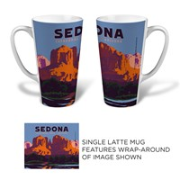 Sedona Cathedral Latte Mug