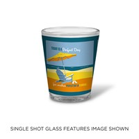 FL Another Perfect Day Shot Glass