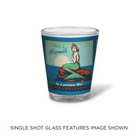 FL Mermaid Queen Shot Glass