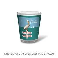 FL Rush Hour/Happy Hour Shot Glass