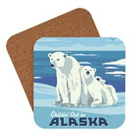AK Polar Bears Coaster