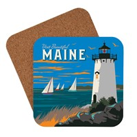 Visit Beautiful Maine Coaster