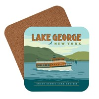 Lake George Boats Coaster