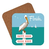 FL Rush Hour / Happy Hour Coaster