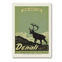 Denali Explore Majesty Vertical Sticker