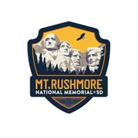 Mt. Rushmore Emblem Sticker
