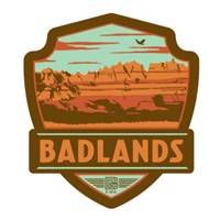 Badlands Emblem Sticker