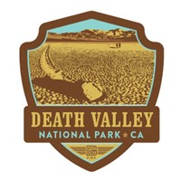 Death Valley Emblem Sticker