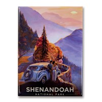 Shenandoah Sunset Metal Magnet