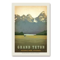 Grand Teton Vertical Sticker