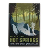 Hot Springs Metal Magnet