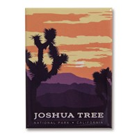 Joshua Tree Metal Magnet