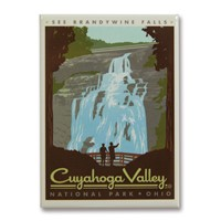 Cuyahoga Valley Metal Magnet
