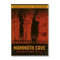Mammoth Cave Metal Magnet
