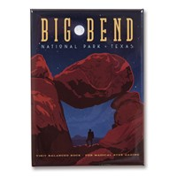 Big Bend Metal Magnet