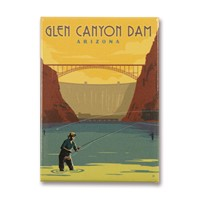 Glen Canyon Dam, AZ Metal Magnet
