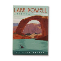 Lake Powell, AZ Metal Magnet