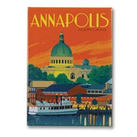 Annapolis, MD Metal Magnet