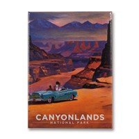 Canyonlands Wonderland Metal Magnet
