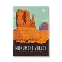 Monument Valley Navajo Tribal Park Metal Magnet