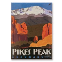 Pikes Peak, CO Metal Magnet