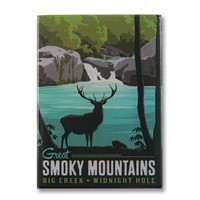 Great Smoky Big Creek Metal Magnet