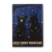 Great Smoky Firefly Cubs Metal Magnet