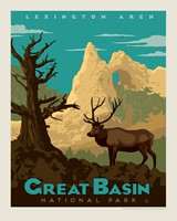 "Great Basin 8"" x10"" Print"