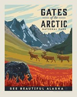 "Gates of the Arctic 8"" x10"" Print"