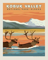 "Kobuk Valley 8"" x10"" Print"
