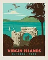 "Virgin Islands 8"" x10"" Print"