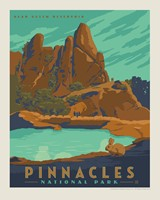 "Pinnacles 8"" x10"" Print"