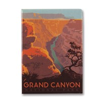 Grand Canyon River View Metal Magnet