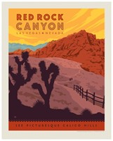 "Red Rock Canyon 8"" x 10"" Print"