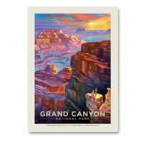 Grand Canyon Sunset Vertical Sticker