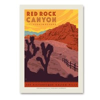Red Rock Canyon Vertical Sticker