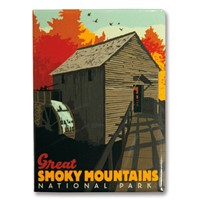 Great Smoky Cable Mill Metal Magnet