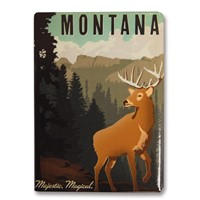 Montana Majestic Magical Metal Magnet