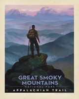 "Great Smoky Appalachian Trail 8"" x 10"" Print"
