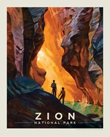 "Zion Virgin River Narrows 8"" x 10"" Print"