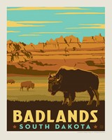 "Badlands, SD 8"" x 10"" Print"
